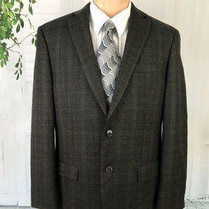 Calvin Klein Men's Suit Jacket Blazer Plaid 38R